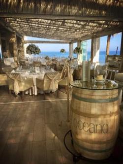 Oceano outdoor dining