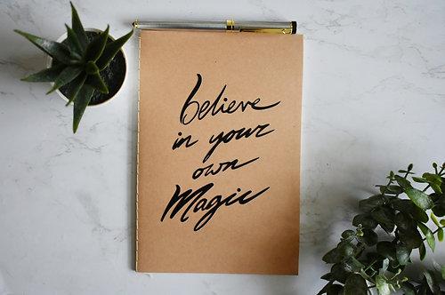 Believe In Your Magic Notebook