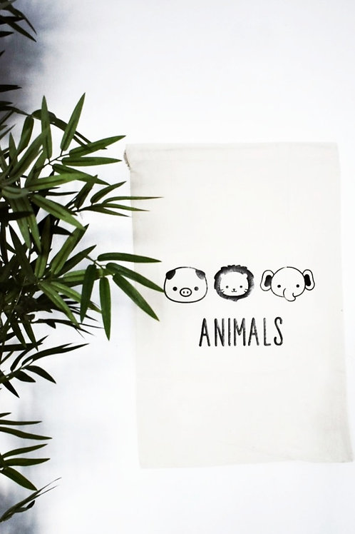 Toy Storage bags - Animals *Personalisation available