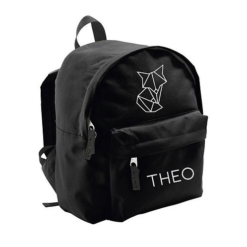 Toddler Backpack -  Geometric Fox (Personalised)