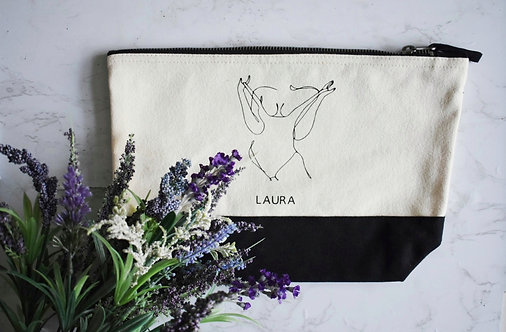 Unapologetic Cosmetics / Toiletry Bag - Personalised