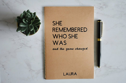 Game Changed Notebook