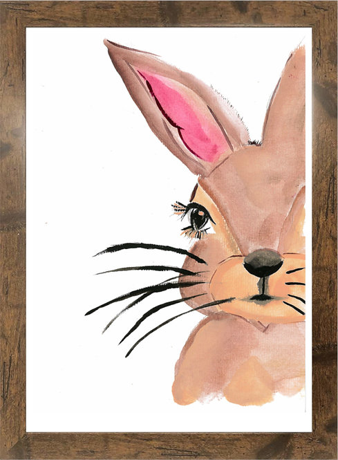 BE YOUR OWN KIND OF BEAUTIFUL BUNNY  - A3