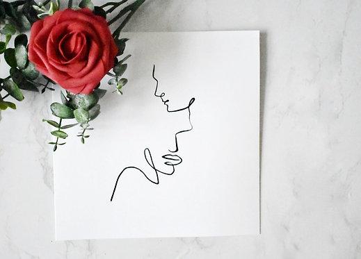 Handmade Cards - Love Lines