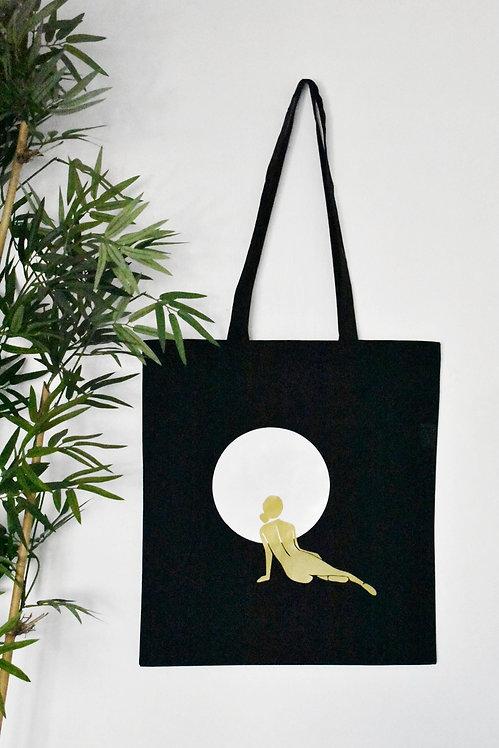 Moon Gaze Tote Bag