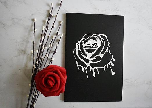 Piercing Rose  Notebook