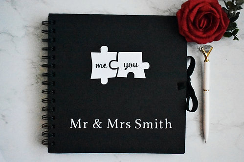 Me & You  -  Personalised  Booklets / Scrapbook