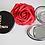 Thumbnail: Personalised Compact Mirror -  Pocket Mirror - Personalised Birthday Gift