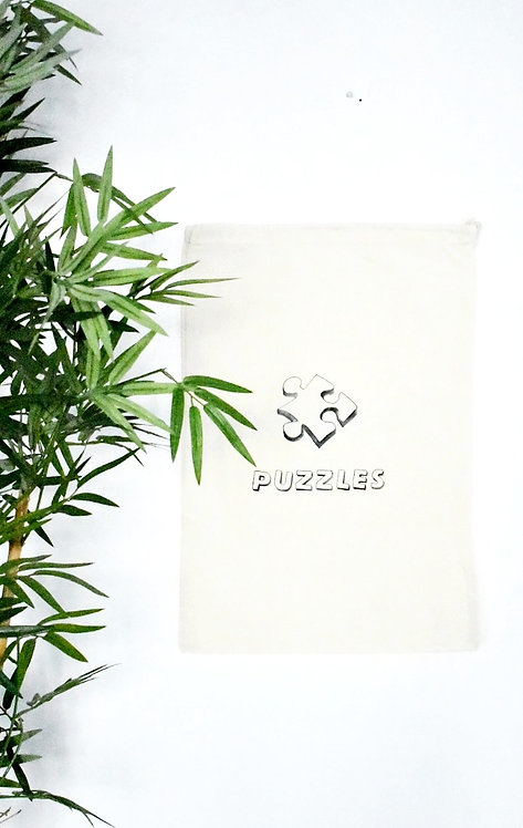Toy Storage bags - Puzzles *Personalisation available