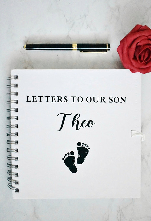 Letters To Our Son Personalised Booklets / Scrapbooks