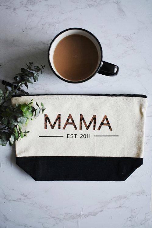 MAMA Cosmetics / Toiletry Bag - Personalised