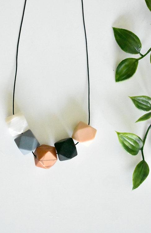 Earth - Teething nursing necklace