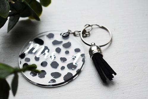 Dalmatian - Personalised Keyring