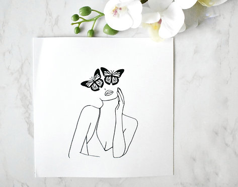 Handmade Cards - Daydreamer