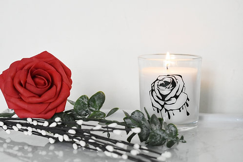 Piercing Rose - Candle