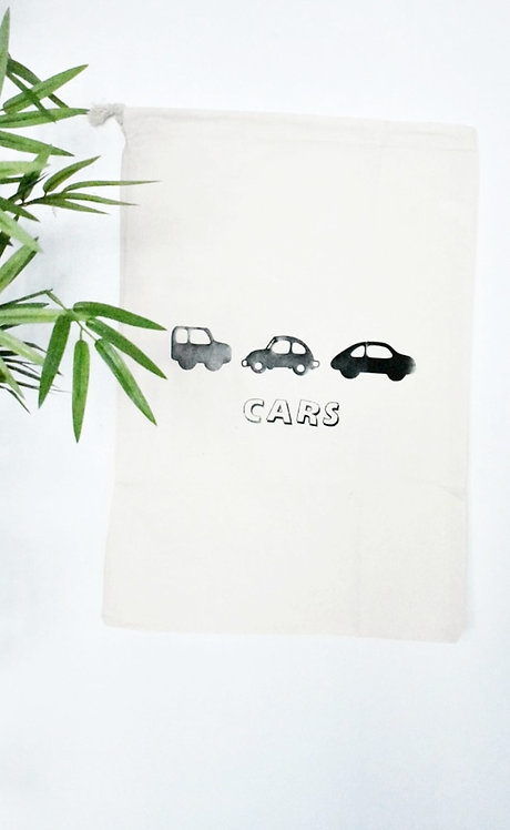 Toy Storage bags - Cars *Personalisation available