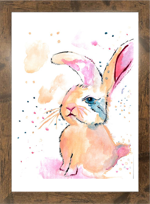 DARE TO BE DIFFERENT - RABBIT  - A3