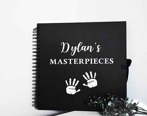 Children Masterpiece -  Personalised Booklets / Scrapbooks