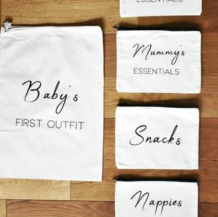BABY CHANGING BAG / HOSPITAL BAG ORGANISERS