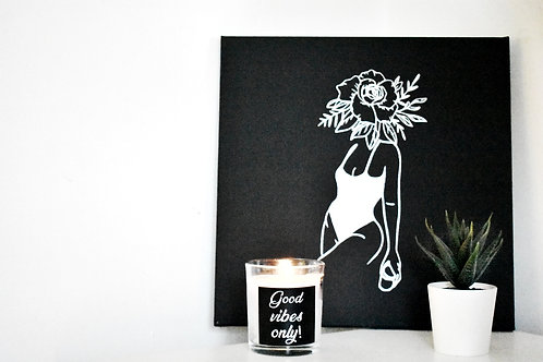 Good vibes only - Candle