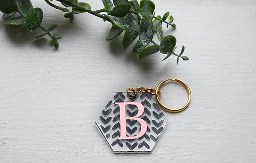 Heart - Personalised Keyring