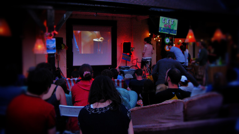 Cinema event with MCR Film Co-op