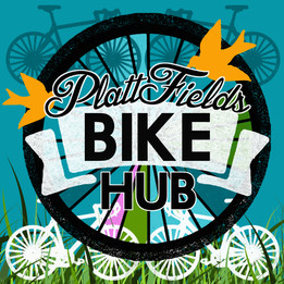 Platt Fields Bike Hub Logo