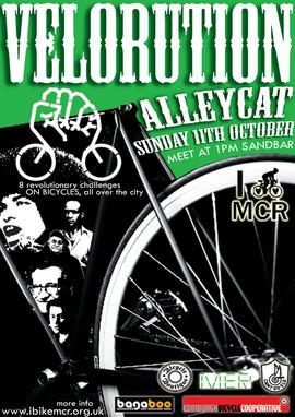 Velorution Alleycat Race
