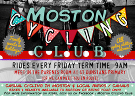 Moston Cycling Club Poster