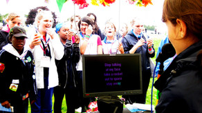 Karoke @ Girl Guides Centenary Festival