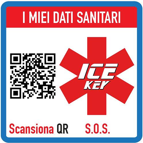 ADESIVO PER DOCUMENTI CON CHIP NFC e QRCode