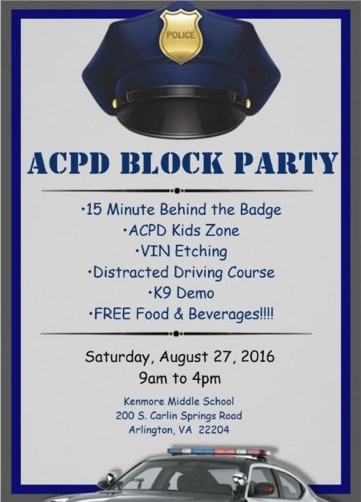 HOT 99.5 DJ at Police Block party