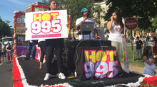 "Our HOT 99.5 DJ- literally ""Mobile"""
