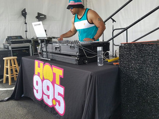 DJ Mixxed spins the Nick and Demi party