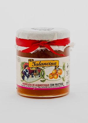Mermelada de albaricoque con fructosa