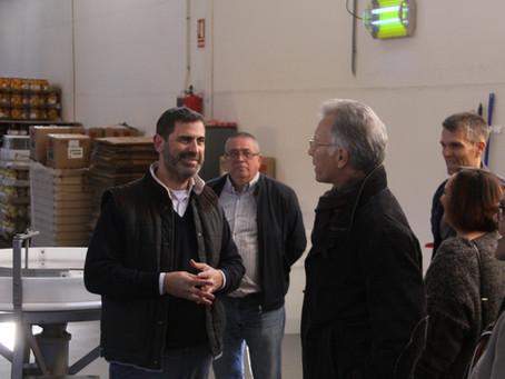 Roger Llanes visita Jalancina