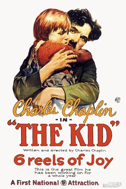 Chaplin's The Kid poster.jpg