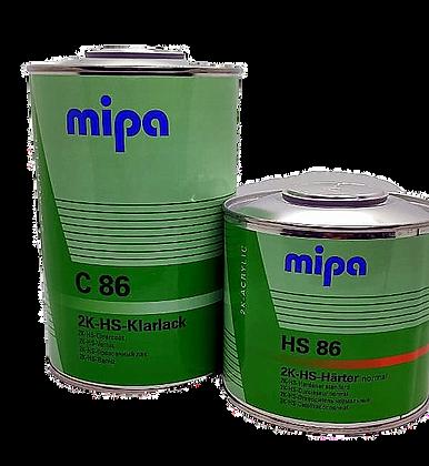 Mipa C86 Лак HS 1л+0.5отв.