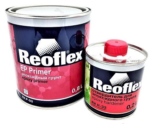 P-03 Reoflex Грунт эпоксидный 4+1 серый 0.8+0.2л