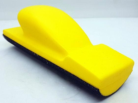 Шлифок ручной средний 70х200 мм с липучкой, выгнутый полужесткий