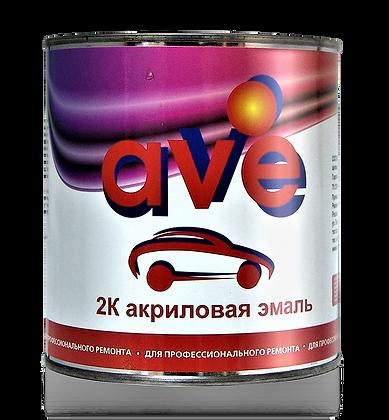 AVE эмаль акриловая 0.8+0,25 отв.