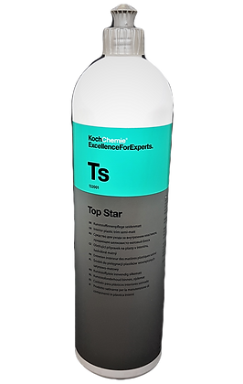 Top star молочко для ухода за пластмассовыми поверхностями 1л.