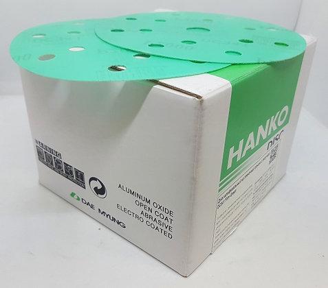 Шлифовальные круги HANKO, 150 мм 15 отверстий