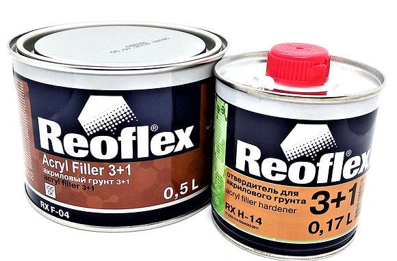 F-04 Reoflex грунт акриловый, серый 0.5 кг 3+1