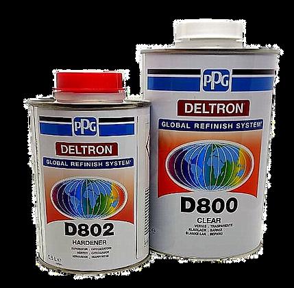 Лак PPG DELTRON D800 1л+0,25отв.