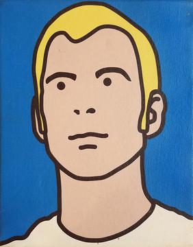 "Eric Doeringer ""Julian Opie"" (2005)"