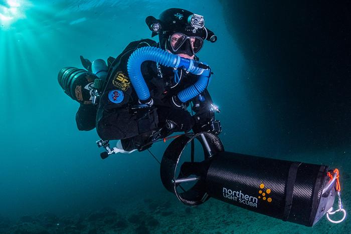 Scooteur sous-marin
