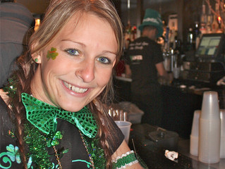 St Patrick's Day—Manhattanites celebrate their Irish roots