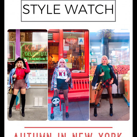 Style Watch: Autumn in New York