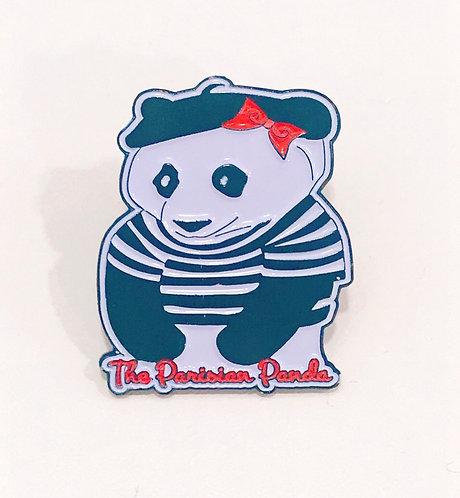 The Parisian Panda Lapel Pin